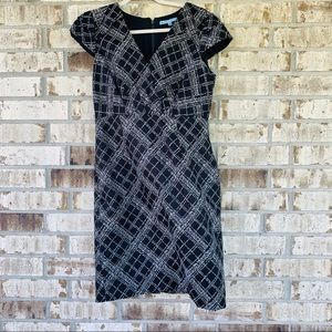 Antonio Melani gray and black dress size 8